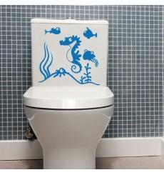 Sticker WC Aquarium