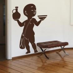 Sticker Petit africain