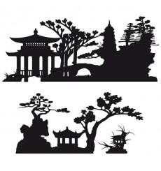 Sticker Vue asiatique