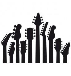 Sticker Manches de guitares