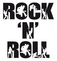 Sticker Rock 'n' roll
