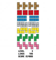 Sticker Tetris