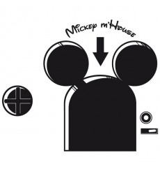 Sticker Mickey Mhouse
