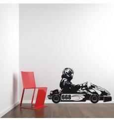 Sticker Karting
