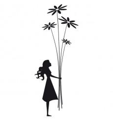 Sticker Bouquet de fleurs