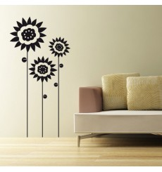 Sticker Tournesols design