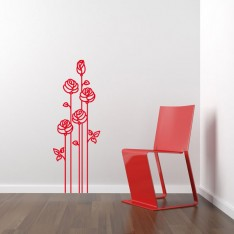 Sticker Roses modernes