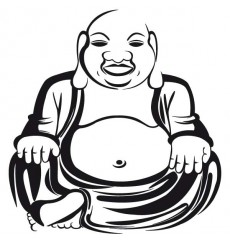 Sticker Bouddha