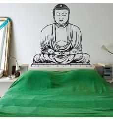 Sticker Bouddha statue
