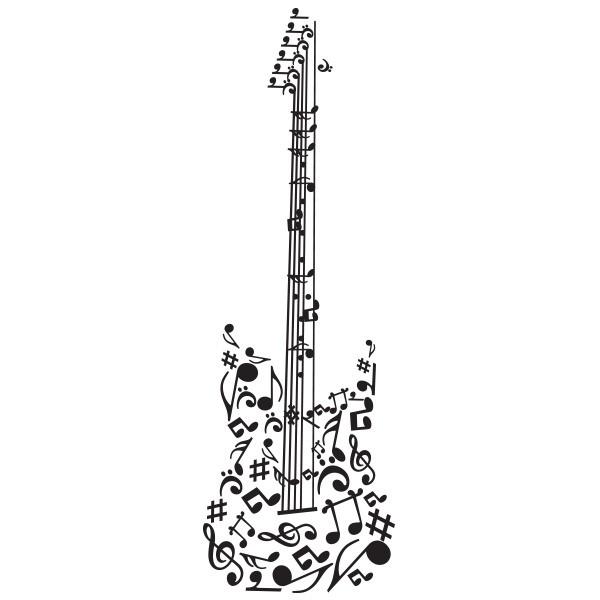 Note Musique Guitare Guitare Notes de Musique