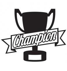 Sticker Trophée du champion
