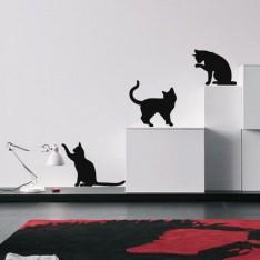 Sticker Sticker Mimiques de chat
