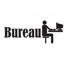 Sticker Sticker porte Bureau