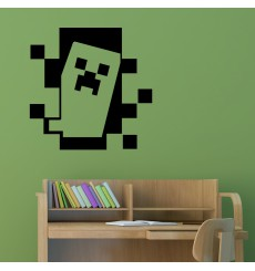 Sticker Sticker Minecraft, Creeper