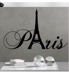 Sticker Sticker Paris avec la tour Eiffel
