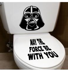Sticker Sticker Mai la force ...