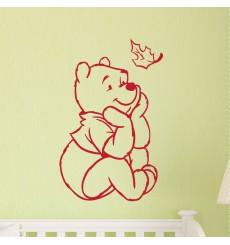Sticker Sticker Winnie l'ourson