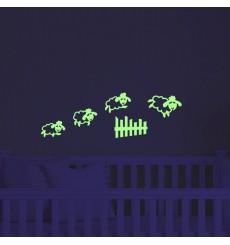 Sticker Sticker saut de mouton phosphorescents