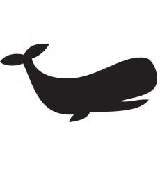 Sticker Sticker ardoise baleine