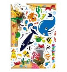 Sticker Stickers Animaux des Océans