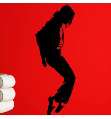 Sticker Sticker Michael Jackson Moonwalk