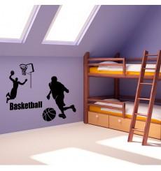 Sticker Sticker Les joueurs de basket