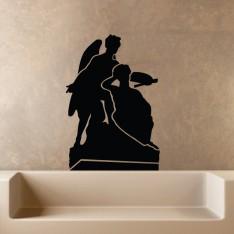 Sticker Sticker Sculpture d'anges