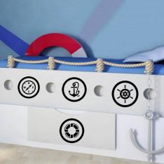 Sticker Sticker Kit Voyageur de mer
