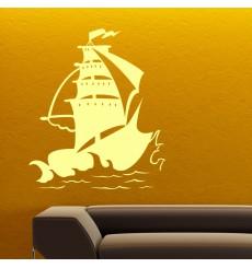 Sticker Sticker Design navire
