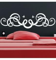 Sticker Tête de lit fantastique