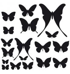 Sticker Pack Papillons