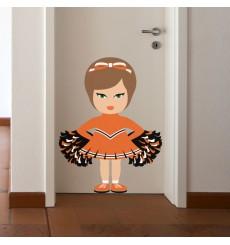 Sticker Pom pom girl