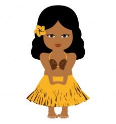 Sticker Tahitienne