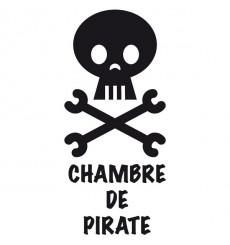 Sticker Chambre de pirate