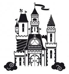 Sticker Chateau enchanté