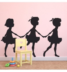 Sticker Petites danseuses