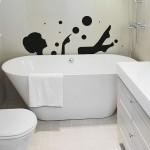 Sticker femme dans son bain | Fanastick