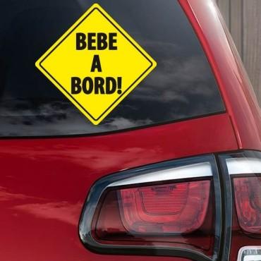 Sticker Bébé à bord - stickers bébé à bord & stickers muraux - fanastick.com