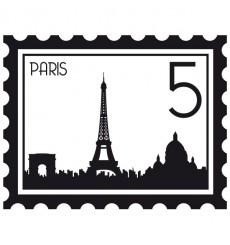 Sticker Timbre Paris