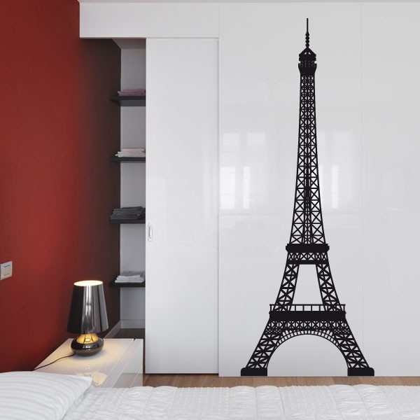 sticker tour eiffel stickers paris stickers muraux. Black Bedroom Furniture Sets. Home Design Ideas