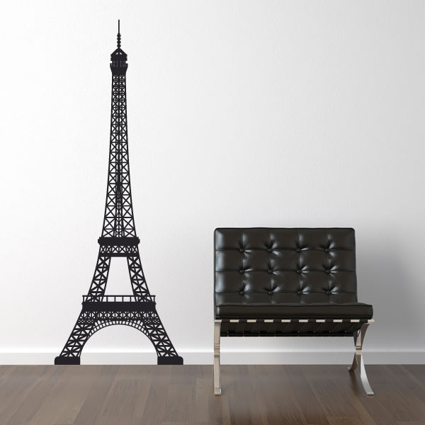 sticker tour eiffel stickers paris stickers muraux. Black Bedroom Furniture Sets. Home Design Ideas