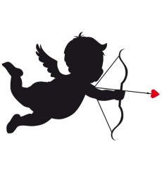 Sticker Cupidon
