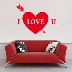Sticker I love u
