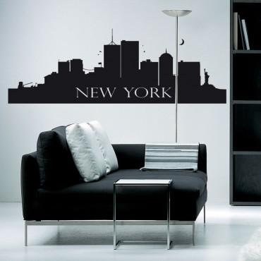 Sticker New York - stickers new york & stickers muraux - fanastick.com