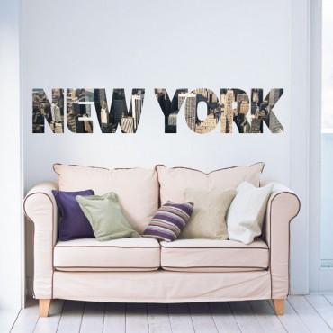 Sticker New York imprimé - stickers new york & stickers muraux - fanastick.com