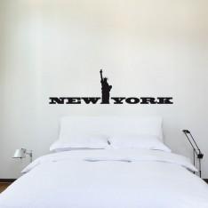 Sticker New York statue