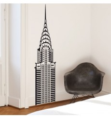 Sticker Sommet Chrysler Building