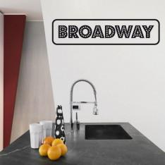 Sticker Broadway