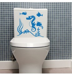 Sticker WC Aquarium