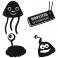 Sticker Pack monstres - stickers monstre & stickers muraux - fanastick.com